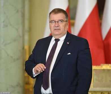 Andrzej Dera o wyborach prezydenckich i decyzji Donalda Tuska