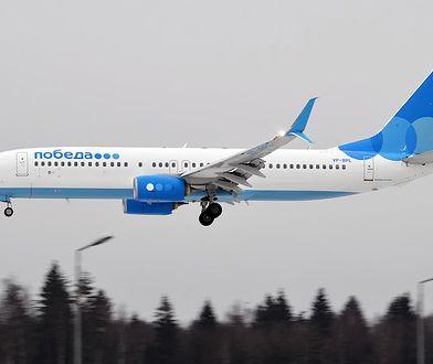 Przyczyny awarii Boeinga 737 linii Pobieda nie są jeszcze znane