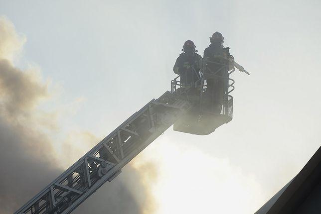 Pożar kamienicy w Lubsku. Nie żyje 26-latka