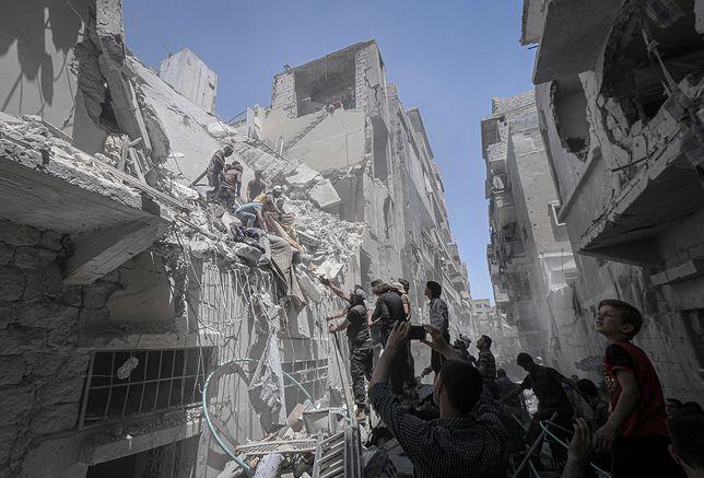Wojna domowa w Syrii trwa od 2011 i pochłonęła już 400 tys. ofiar