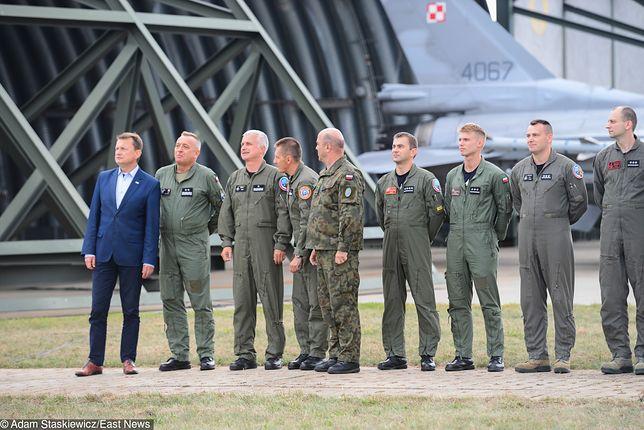 Dane polskich pilotów F-16 nie są danymi wrażliwymi. Możne ja łatwo znaleźć w sieci.