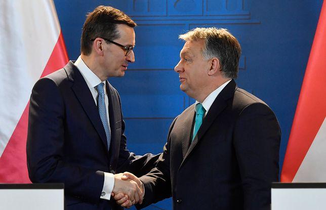 Spotkanie Mateusza Morawieckiego z Viktorem Orbanem w Budapeszcie