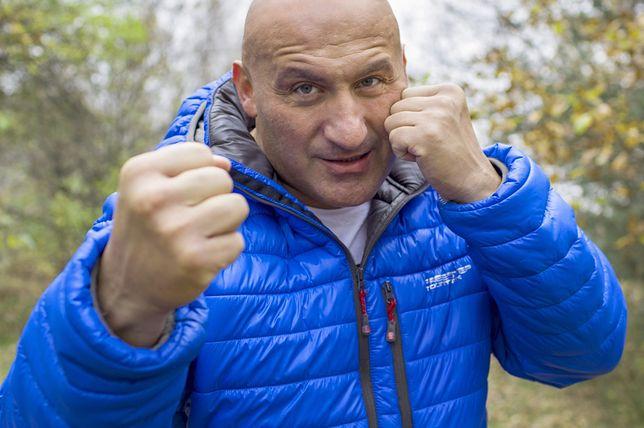 Marcin Najman oddał na aukcję WOŚP swoją niebieską kurtkę. Została zlicytowana za ponad 20 tys. zł.