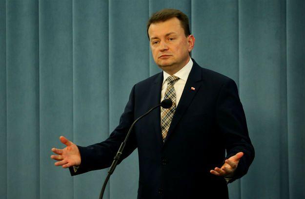 Mariusz Błaszczak: bezpodstawne zarzuty o rzekomym chaosie w policji