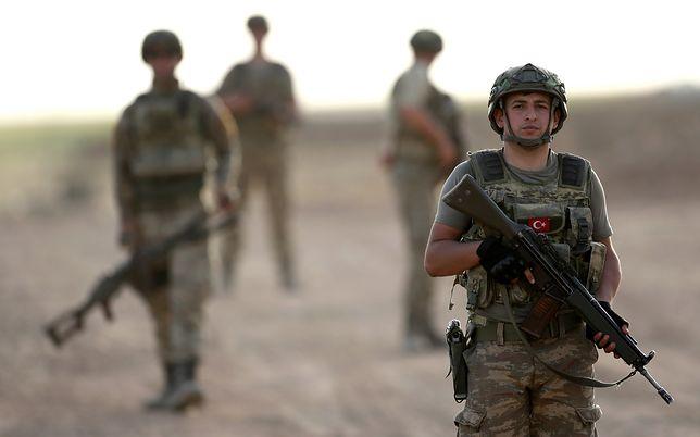 Tureccy żołnierze w Regionie Kurdystanu