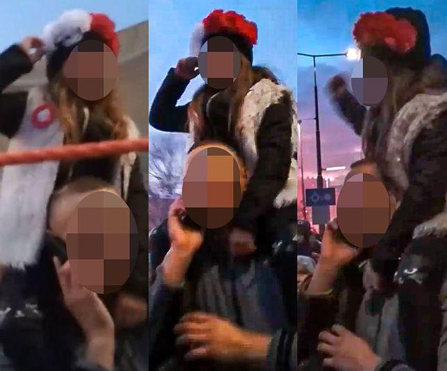 """Marsz Niepodległości. Dziewczynka krzyczała: """"Zamiast liści komuniści"""""""