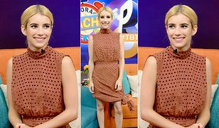 LOOK OF THE DAY: Emma Roberts w sukience Saloni