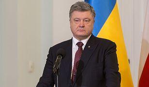 Ukraina. Petro Poroszenko w szpitalu
