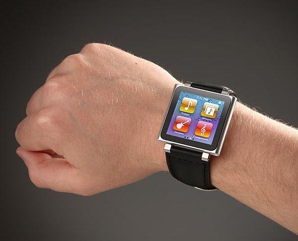 Nano jako zegarek wyglądał niemal dokładnie tak, jak dziś Apple Watch.