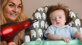 Wygląda jak mini Wolverin – 5-miesięczny chłopiec ma niezwykle bujną czuprynę