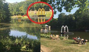McDonald's tłumaczy się z dryfującego logo po Łazienkach Królewskich. Wszystko przez... pokaz mody