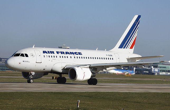 Samoloty Air France mają barwy flagi francuskiej