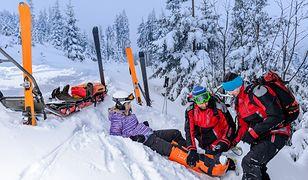 Brak ubezpieczenia na nartach może mieć opłakane skutki dla naszego zdrowia i portfela