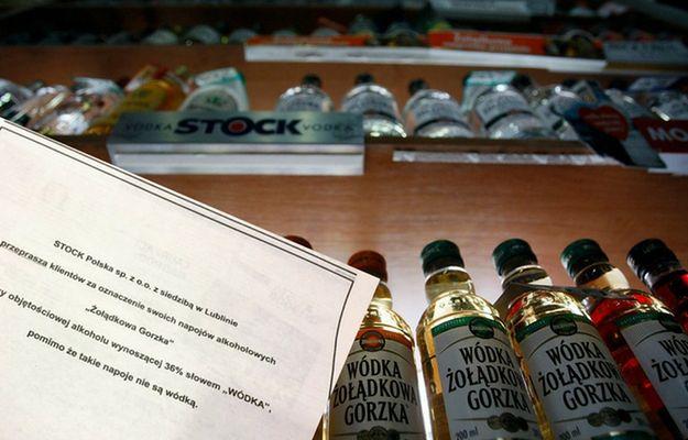 """Stock Polska przeprasza klientów za Żołądkową Gorzką. """"To nie wódka"""""""