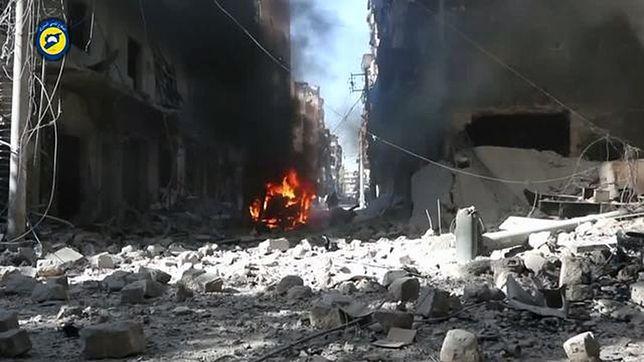 Syryjska armia wzywa rebeliantów do opuszczenia Aleppo