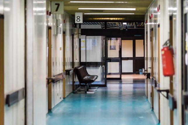 Do zamieszania doszło w szpitalu powiatowym w Radomsku (woj. łódzkie)