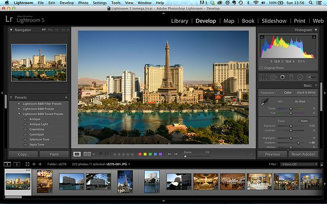 Adobe LightRoom -cyfrowa ciemnia o uznanej marce