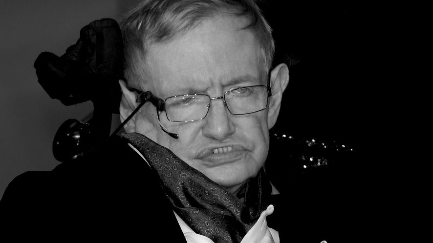 Stephen Hawking z depositphotos