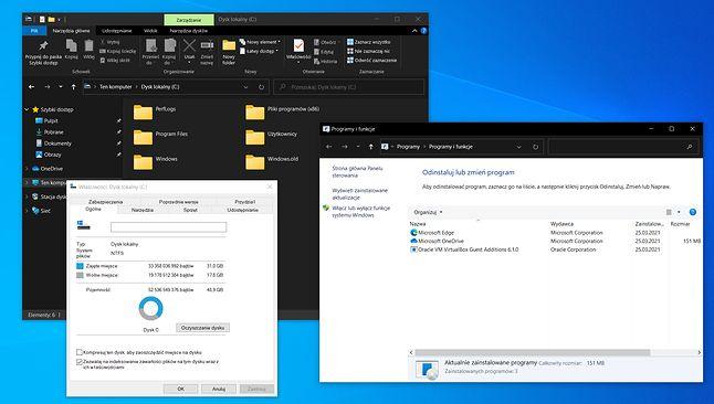 Interfejs Windows 10 ma większe problemy niż kwestię świeżości ikon, fot. Oskar Ziomek.