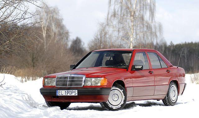 34 lata Mercedesa W201 190
