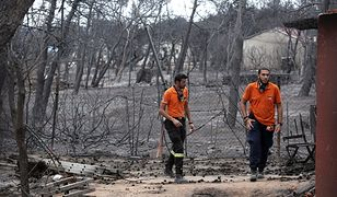 Grecja. Pożary mógł wywołać 65-latek, który palił gałęzie
