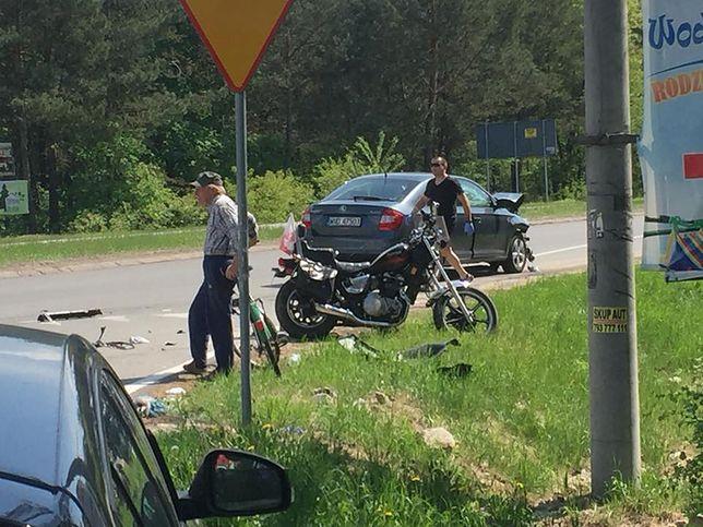 Zdjęcie z wypadku w Wildze