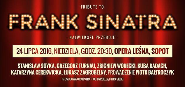 Tribute to Frank Sinatra: porywające widowisko w Operze Leśnej w Sopocie