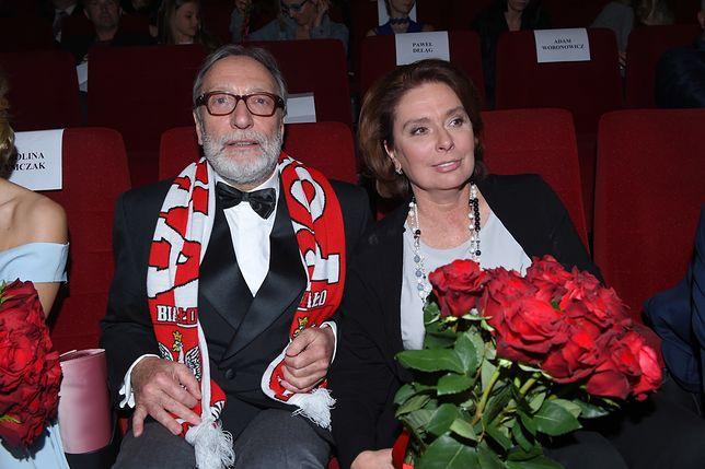 """Jan i Małgorzata Kidawa-Błońscy na pokazie filmu """"Gwiazdy"""""""