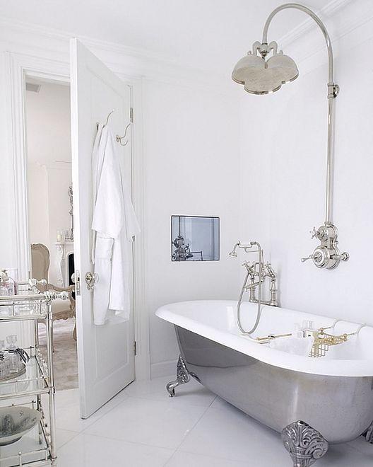 Niezwykły Prysznic W Stylu Vintage Wp Dom