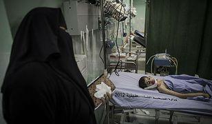 Beit Lahia,północna część Strefy Gazy. 10-letni chłopiec przeżył nalot, w którego wyniku zginęła jego rodzina oraz inni cywile.