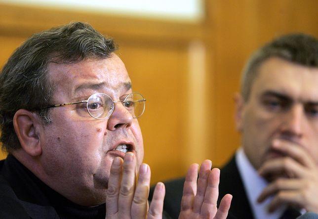 Prof. Aleksander Nalaskowski z Uniwersytetu Mikołaja Kopernika w Toruniu
