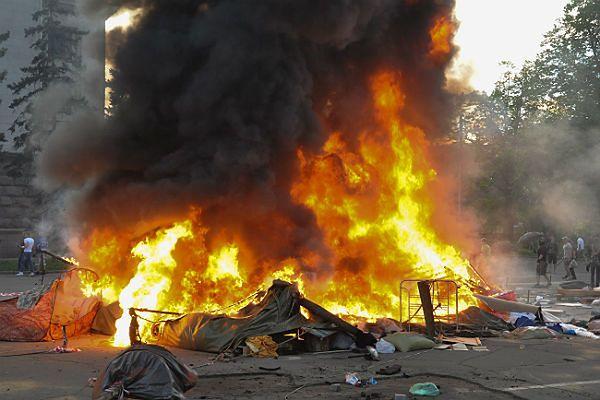 W Odessie w wyniku pożaru zginęło 31 osób