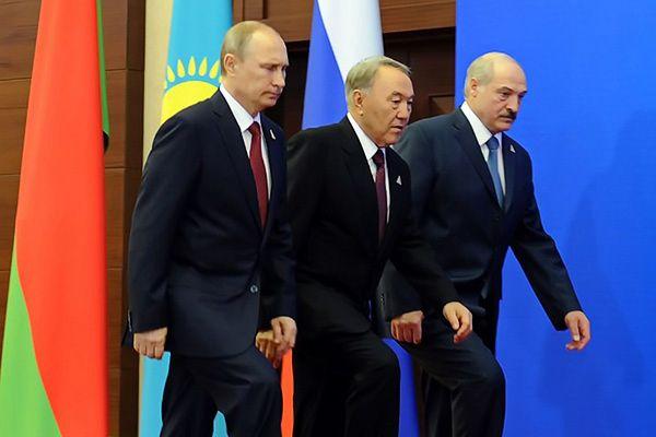 Prezydenci Rosji, Kazachstanu i Białorusi