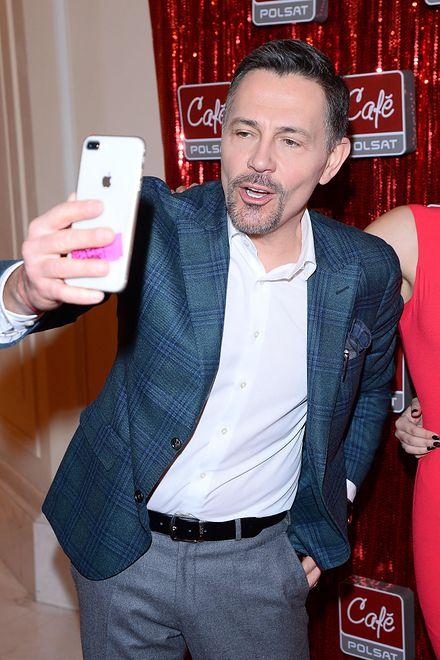 Krzysztof Ibisz wziął udział w #10yearschallenge