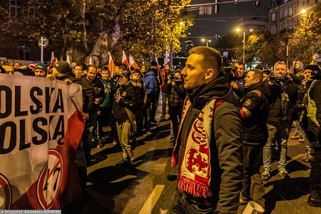 Wrocław. Marsz Niepodległości 2019 przerwany. Doniesienie do prokuratury na Jacka Międlara