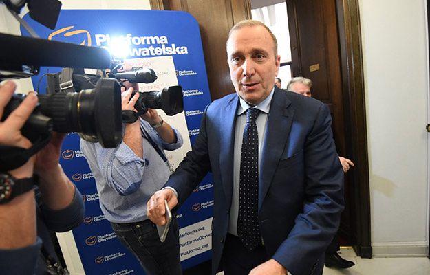 Grzegorz Schetyna zdradza WP, kiedy Platforma odwiesi protest