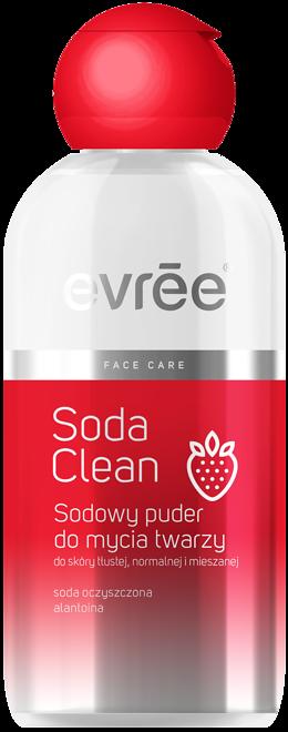 Sodowy puder do mycia twarzy Soda Clean Evree (ok. 15 zł)