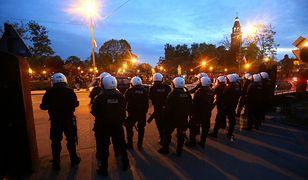 Kolejne starcia kibiców z policją w Knurowie