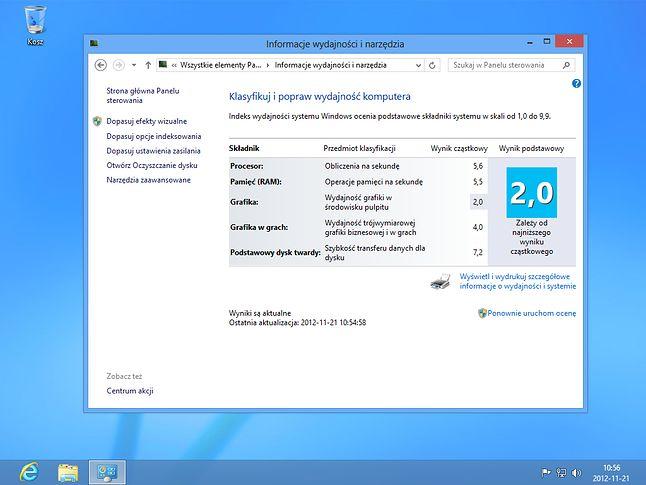 ten sam komputer, z nowym dyskiem, Windows PRO 32 bit PL