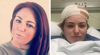 29-latka chciała zrobić sobie fryzurę ''jednorożca''. Straciła połowę włosów na głowie