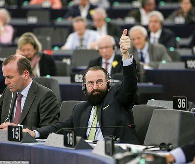 József Szájer. Organizator imprezy w Brukseli nie wiedział, że będzie na niej polityk