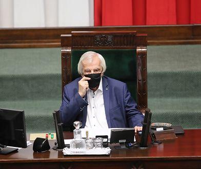 Awantura w Sejmie z udziałem Terleckiego i Nitrasa. Marek Pęk komentuje