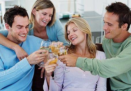 Białe wino też zdrowe