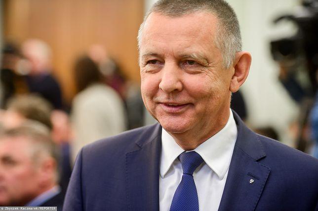 Marian Banaś w Sejmie.