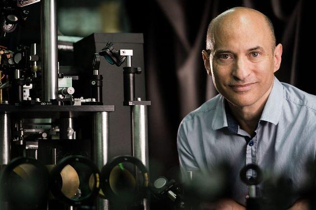 Profesor Jeff Steinhauer, główny autor badania