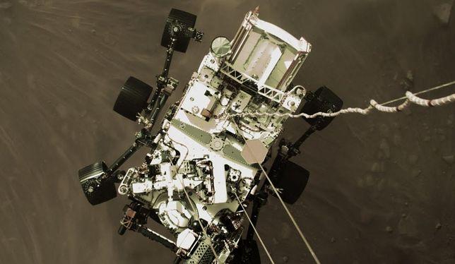 NASA: Lądowanie łazika Perseverance na Marsie [Wideo]
