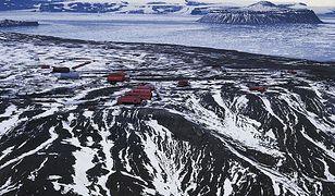 Jedna z baz na Antarktydzie