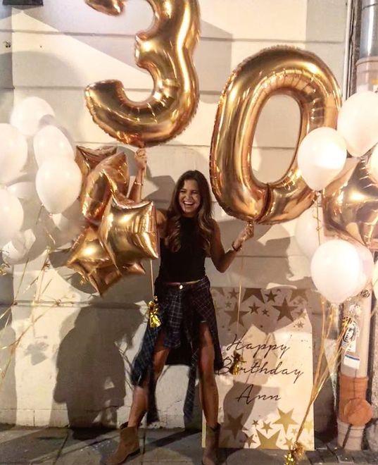 Lewandowska hucznie świętowała 30. Ale zamiast eleganckiej sukienki, założyła zwykłe szorty