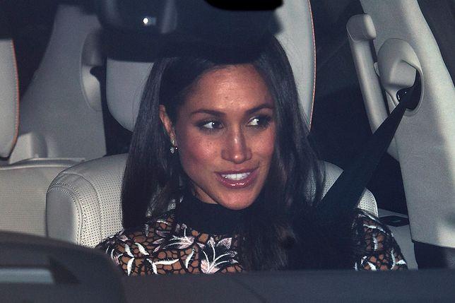 """Incydent na lunchu u królowej? Księżna Marie Christine z Kentu z """"rasistowską"""" biżuterią na spotkaniu z Meghan Markle"""