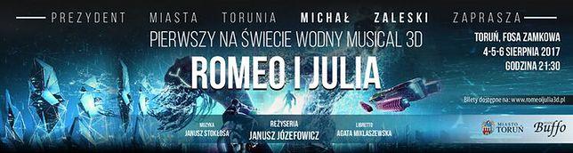 """Pierwszy na świecie wodny musical! Józefowicz wystawia """"Romeo i Julię"""" w nowej odsłonie"""